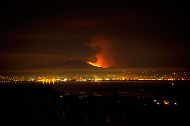 Mt. Diablo Fire