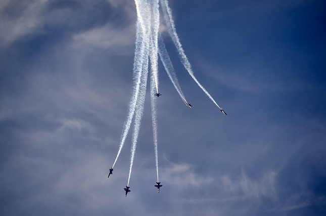 Blue Angels fall from the sky